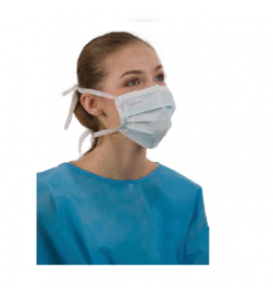 surgical face mask,tie-on premium,blue 50pcs/ bag