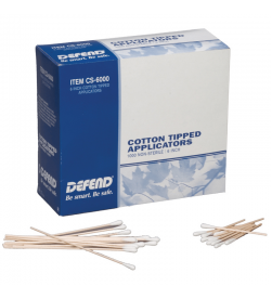 6″ Cotton Tipped Applicators. 1000/box