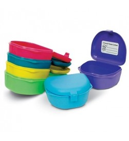 DENTURE BOX ASST COLORS