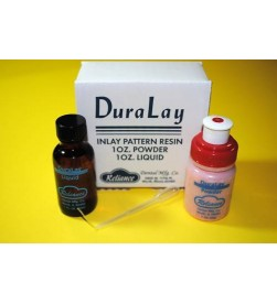 DURALAY RED  STUDENT KIT WITH 1OZ  RESIN PATTERN