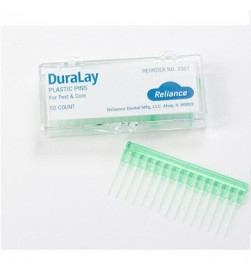DURALAY PLASTIC PINS – FOR POST AND CORE PK/50