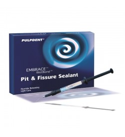 Embrace WetBond Pit & Fissure Sealant Kit: 4 x 1.2 mL syringes, off-white shade 20 applicator tips