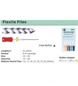 FLEXILE FILE 21MM pk/6
