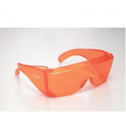 Orange Eye Protection Glasses